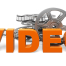 Video Icon Orange Text