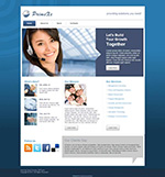 Blue Business Theme