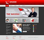 Red Business Theme